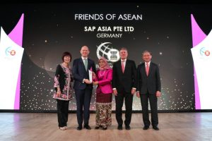 SAP honoured with Friend of Asean Award